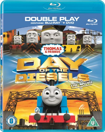Thomas & Friends - Day of the Diesels [Blu-ray + DVD] [2011]