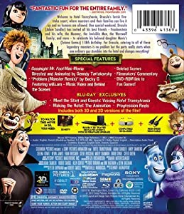 Hotel Transylvania (Blu-ray 3D / Blu-ray / DVD + UltraViolet Digital Copy) from Sony Animation