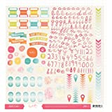 Studio Calico Sundrifter 12x12 Sticker Sheet