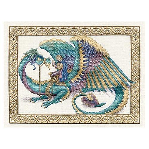Amazon.com: Teresa Wentzler's Dragon Ride Counted Cross Stitch Kit