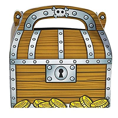 Treat Boxes, Treasure Chest Design (2 dz) by Fun Express