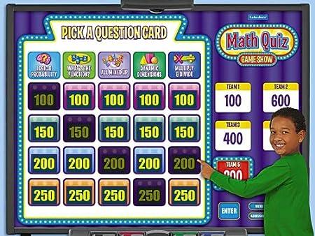 Interactive Math Quiz Game - Gr. 4-6