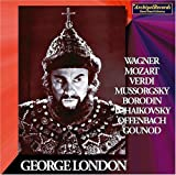George London sings Wagner, Mozart, Verdi, Mussorgsky, Etc.