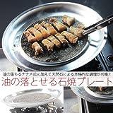 焼肉の本場韓国製!!油の落ちる石焼コーティングプレート☆ホルモン焼用(KTG-TP)