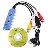Easycap USB 2.0 Video Capture TV DVD VHS DVR Audio Capture Adapter Card TV Converter