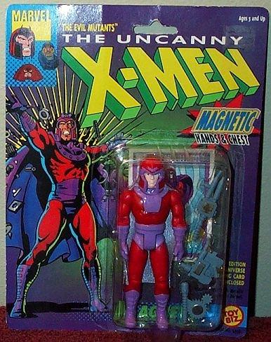 """The Uncanny X-Men Evil Mutant MAGNETO 5"""" Action Figure (1991 ToyBiz) - 1"""