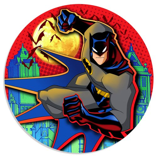 "Batman Begins 9"" Dinner Plates - 8 Count - 1"