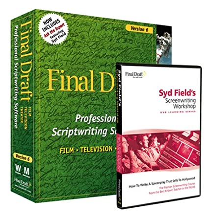 Final Draft 6.0 and Syd Field's Screenwriting Workshop DVD combo