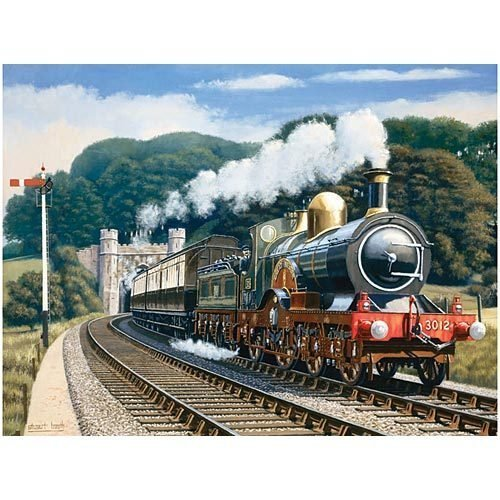 Puzzle Collector Art 500 Piece Puzzle - Great Western Train - 1