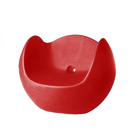 Slide Blos Poltrona Rosso fiamma