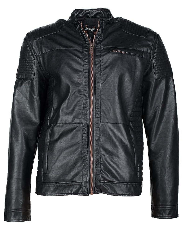 MAZE Jacke, Herren Braga PU (black) jetzt kaufen