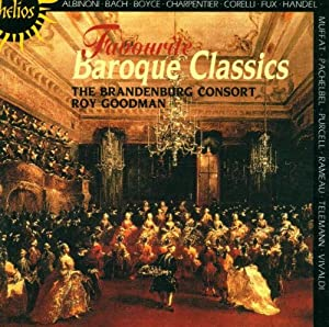 Favourite Baroque Classics by Helios