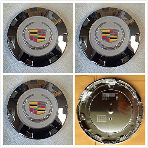 Brand New 4 Pieces Set GM Cadillac Escalade 22 inch wheel center Hub caps 9597355 / 9598295/9598677 2007 2008 2009 2010 2011 2012 2013 and 2014 2015 Escalade US Fast shipment (Cadillac Escalade Hubcap Cover compare prices)