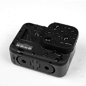 Taisioner 2pcs Silicon Lens Cap for GoPro Hero 8 Black Adsorption Protective Cover Accessories (Tamaño: HERO 8 Lens Cap)