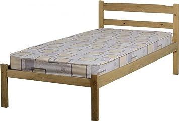 Panama 91,44 cm cama de acoplamiento cera crema pie de cama