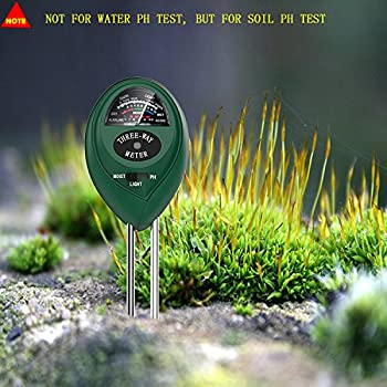 Dr.Meter S30 Soil Moisture Meter Sunlight PH Acidity 3-in-1 Soil Tester Kit for Garden Farm Lawn Planter