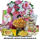 Art of Appreciation Gift Baskets Blooming Gift Bag of Tea, Sweets and Treats