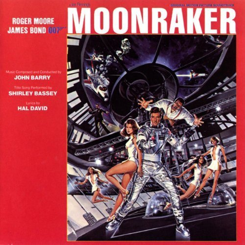 Original album cover of Moonraker by Shirley Bassey Original recording reissued, Original recording remastered, Soundtrack edition (2003) Audio CD by James Bond - OST