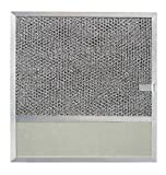 Broan BP57 11-3/8-Inch by 11-3/4-Inch Aluminum Replacement Filter with Charcoal Pad and Light Lens for Range Hood Series 43000