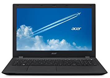 "Acer TravelMate P257-M-582X PC Portable Pro 15"" Noir (Intel Core i5, 4 Go de RAM, Disque Dur 500 Go, Windows 10 Pro)"