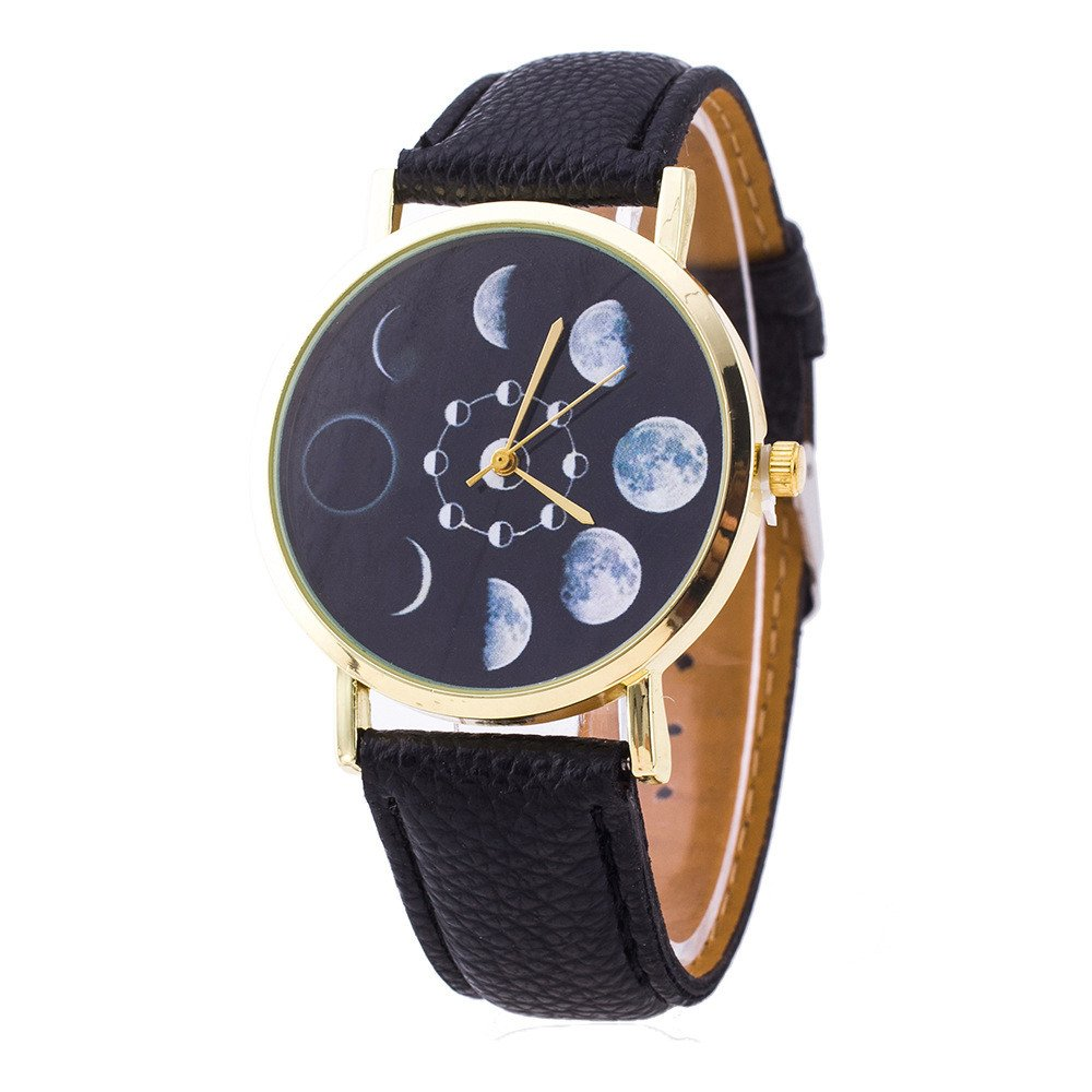 Space Astronomy Moon Phase Watch