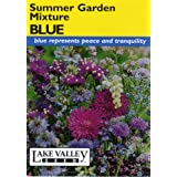 Lake Valley 3942 Summer Garden Mixture Blue Seed Packet