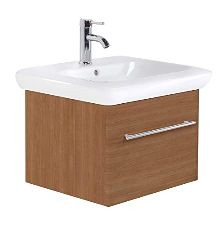 Bathroom Furniture Keramag IT! 60 cm with one drawer light oak satin