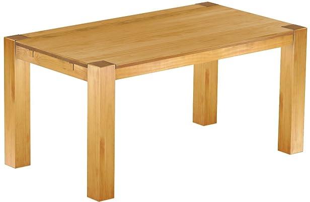 """Brasil """"Rio Kanto mobili da tavolo 160x 90x 78cm in legno di pino massiccio, colore: Miele"""