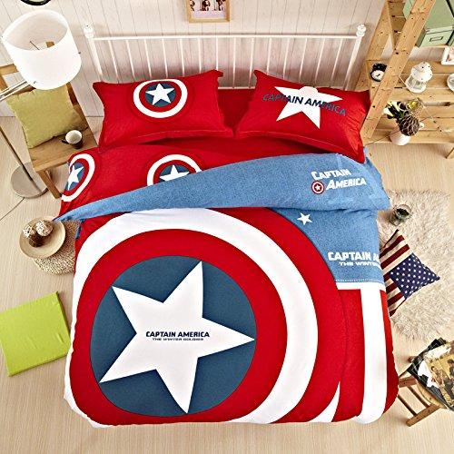 Captain america bedroom decor for Captain america bedroom ideas