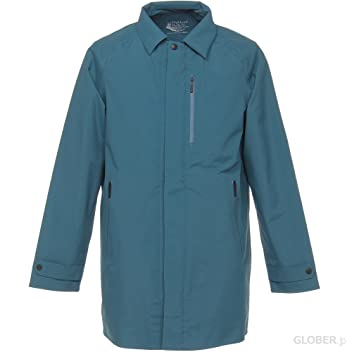 Highland Park 3L Balmacaan Coat D2JE5506: Blue Green