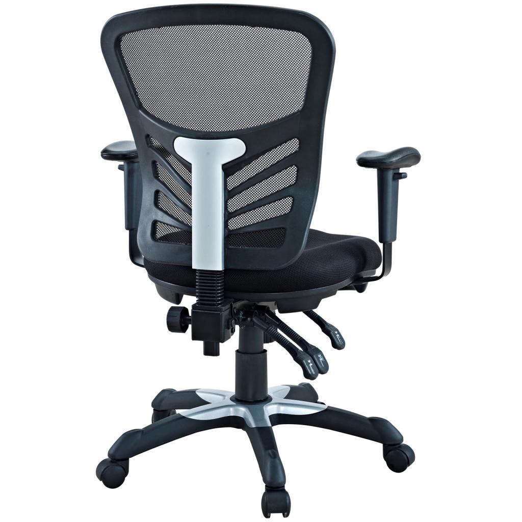 Amazon Com Lexmod Articulate Black Mesh Office Chair