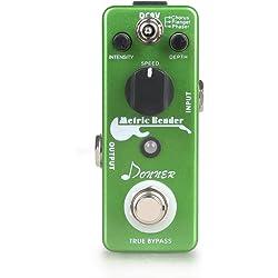 Donner Metric Bender Digital Modulation Effect Guitar Pedal 3 Modes True Bypass