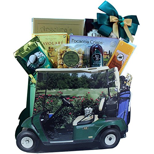 Art of Appreciation Gift Baskets Gone Golfing Golf Cart Gift Bag Tote