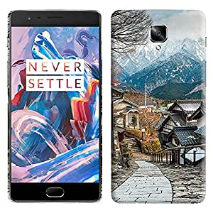 Theskinmantra Dream view back cover for OnePlus 3/OnePlus Three/1+3