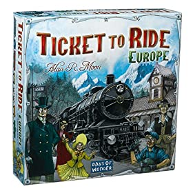 Ticket to Ride - Europe!