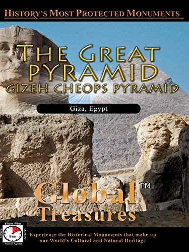 Global Treasures THE GREAT PYRAMID Gizeh Cheops Pyramid Egypt