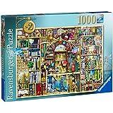 Ravensburger Puzzles The Bizarre Bookshop No. 2, Multi Color (1000 Pieces)