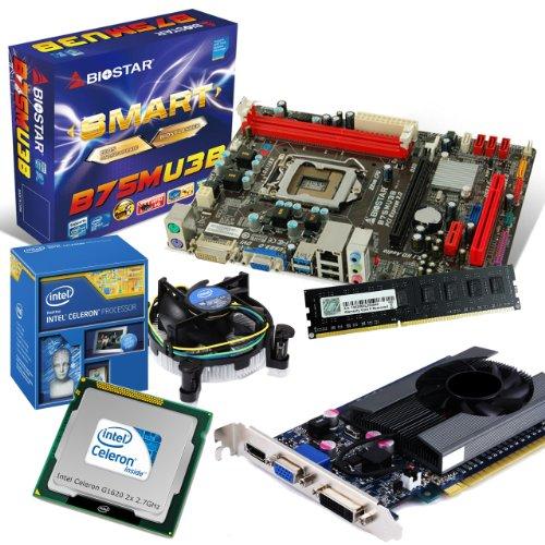 tronics24 PC Aufrüstkit | Intel Celeron G1620 2x 2.7GHz Dual-Core | Nvidia GeForce GT630 4GB