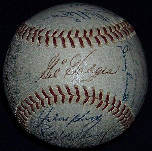 Gil Hodges and 1966 Washington Senators Team Signed Baseball