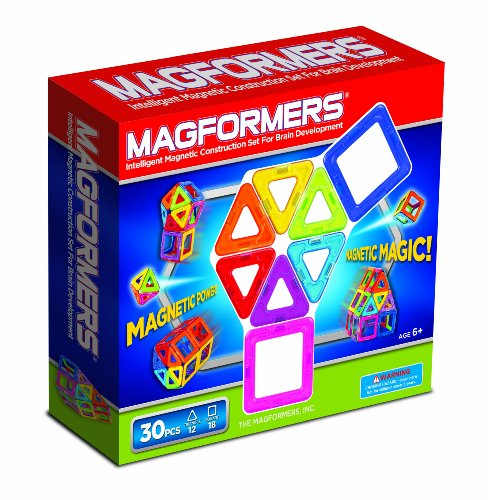 Magformers Rainbow 30 Piece Set Picture