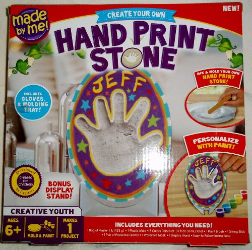 Made By Me Hand Print Stone Kit - 1