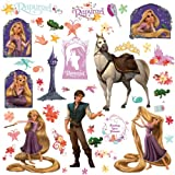 Roommates Tangled - Rapunzel Peel And Stick Wall Decal, Multi Color