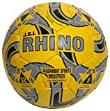 JSI Rubber Football (5, Yellow & Silver)