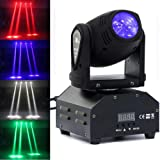 9Fshine 10W RGBW LED Beam Moving Head Stage Effect Lighting DMX512 DJ Disco Party Light