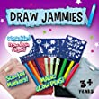 Draw Jammies Draw On Your Pyjamas Washable SMALL PINK 3-4 Years As Seen On TV
