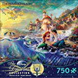Thomas Kinkade Disney Dreams COLLECTION The Little Mermaid 750 Piece Jigsaw Puzzle MADE IN USA