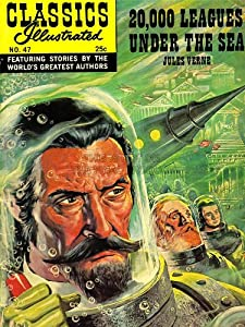 COMICS CLASSICS ILLUSTRATED 20000 LEAGUES UNDER SEA VERNE USA POSTER 18x24 INCH LV1454
