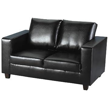 Tempo negro de sofá de una caja de regalo