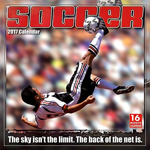 Soccer: The Original Extreme Sport 2017 Wall Calendar