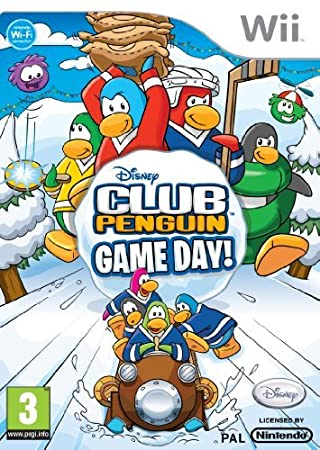 Club Penguin: Game Day (Wii) by Disney